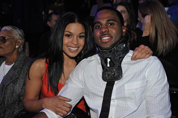 Jason Derulo and Jordin Sparks at American Idol on Wednesday night to announce the Coca-Cola Perfect Harmony program