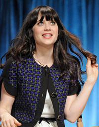 Zooey Deschanel at Paleyfest talking about New Girl Jess.