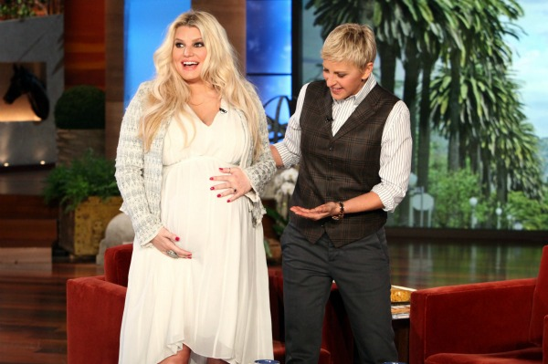 Jessica Simpson shares a little too much info