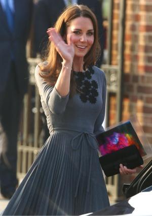 Duchess of Cambridge goes Olympic