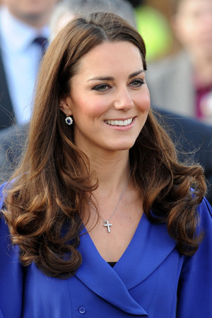 Kate Middleton's first speech a success