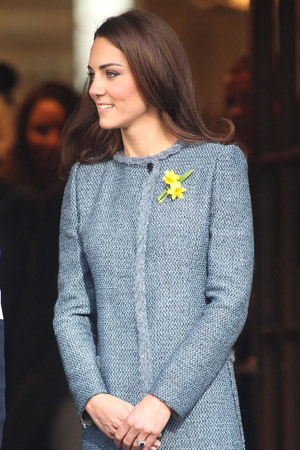 kate Middleton planning first solo speech