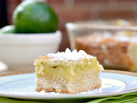 Light key lime bars
