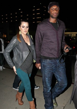 Khoe Kardashian Lamar Odom