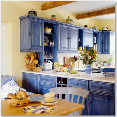 how to create a spring kitchen