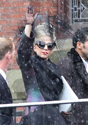 Lady Gaga goes to Harvard