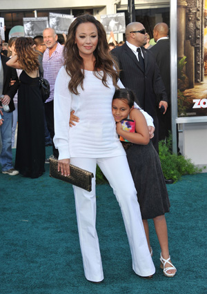 Leah Remini and daughter