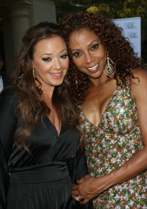 Leah Remini Holly Robinson Peete
