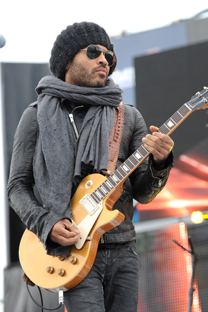 Lenny Kravitz on Cinna's fashion