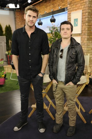 Liam Hemsworth and Josh Hutcherson