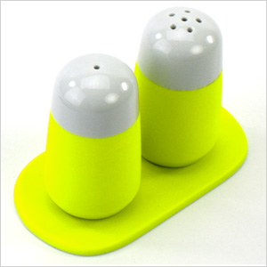 Fluo salt & peper shaker set, fitzsu.com, $95