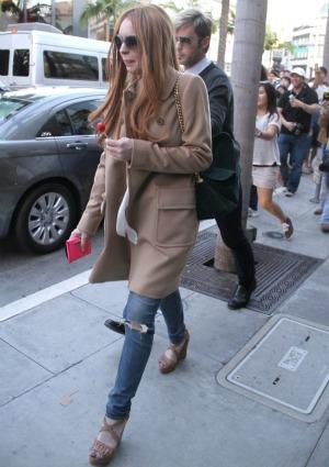 Lindsay Lohan to blame?