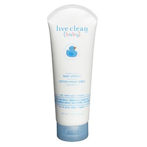 Live Clean Baby Lotion