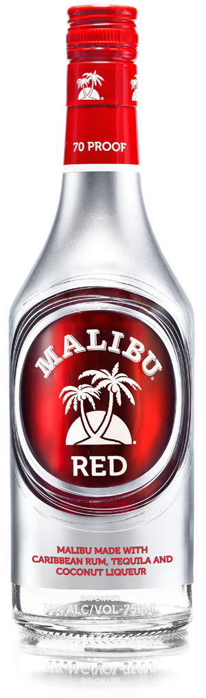 Mailbu Red Cocktail