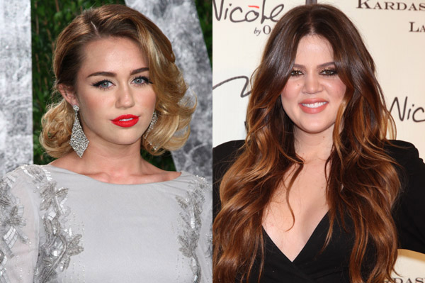 Miley Cyrus and Khloe Kardashian talks puppies