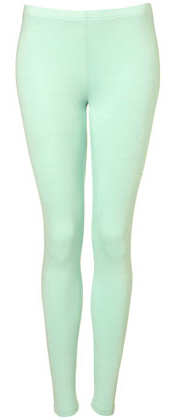 Topshop Coloured Ankle Leggings (