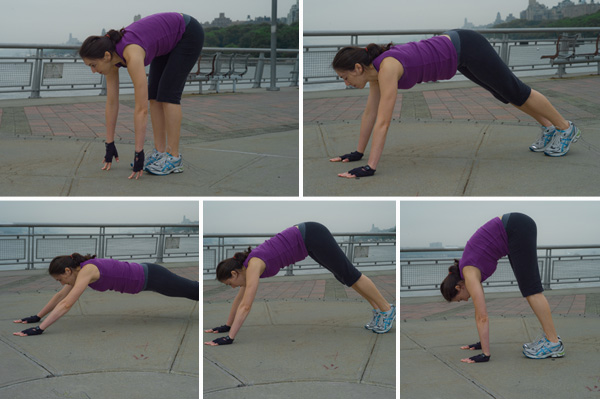 Post-pregnancy workout for moms