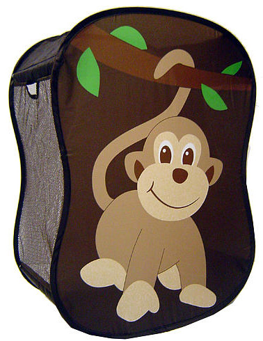 5 fun kids 39 clothes hampers - Monkey laundry hamper ...