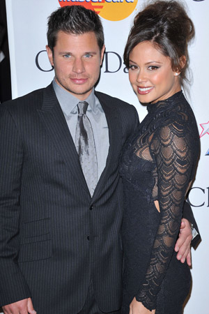 Nick Lachey excited to become a dad!