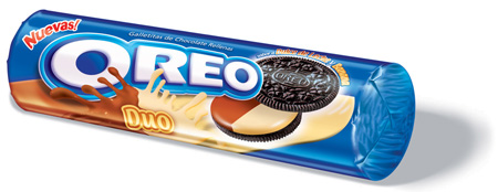 Oreo packaging in Argentina