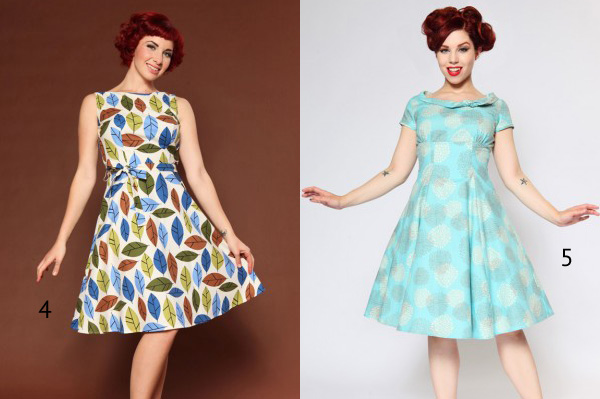 Vintage style clothes  VINTAGE STYLE DRESS - Hamasa Werde