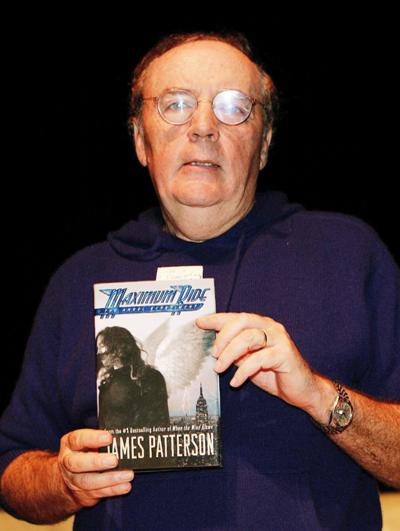 James Patterson gives troops 200,000 books