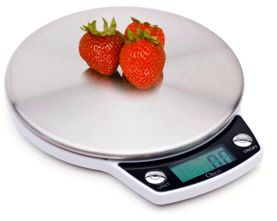 Ozeri Precision Stainless Steel Digital Scale