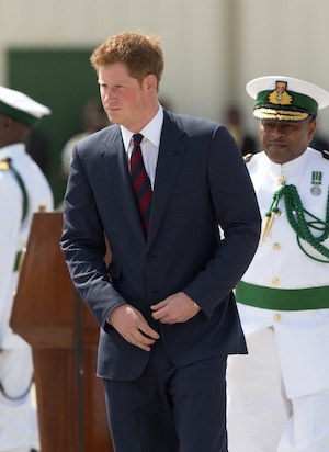 Prince Harry cheats during his trip to Jamaica.