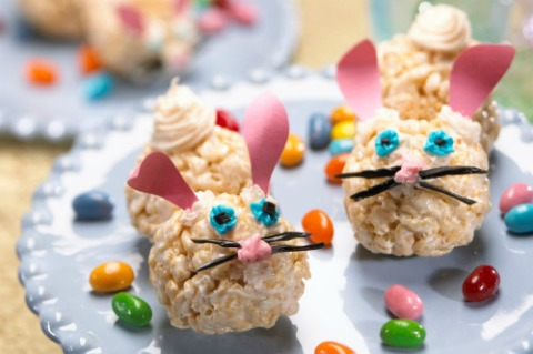 Rice Krispies Treats bunnies