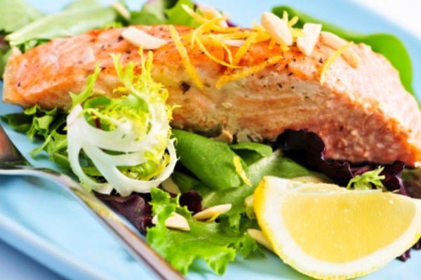 Salmon salad
