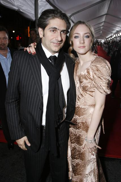 Saoirse Ronan and Michael Imperioli