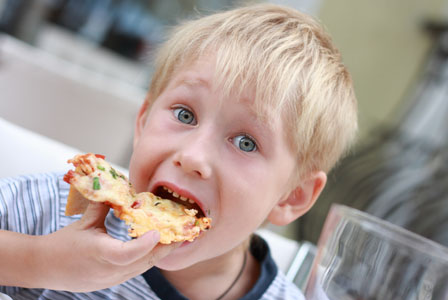 Connecting children's behaviors with diet