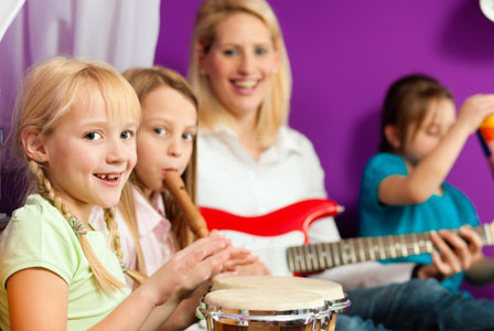 The importance of music to children