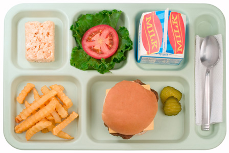 School cheeseburger