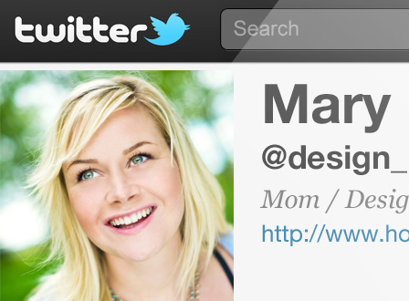 Twitter screenshot -- profile photo