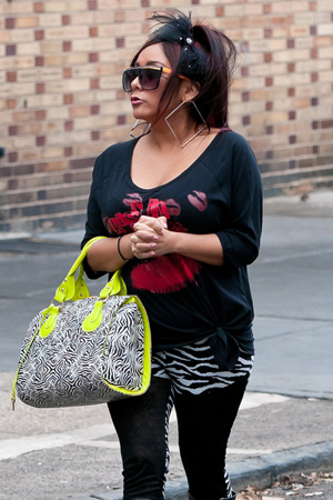 Snooki pregnancy rumors continued