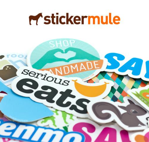 Sticker mule 100 gift certificate