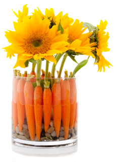 Carrot centerpieces