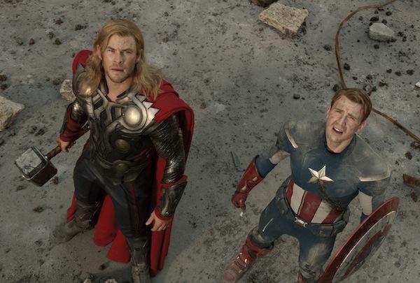Thor meet Captain A