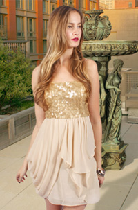 The Gossip Girl collection by Romeo and Juliet Couture