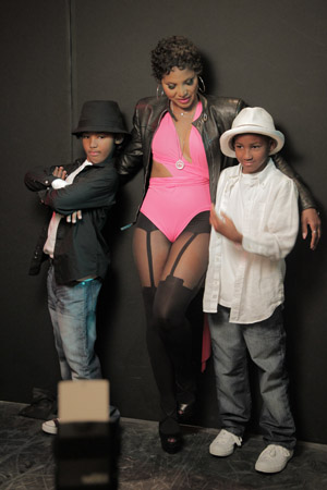 Toni Braxton's new music video -- Behind the Scenes