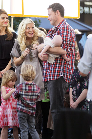 Tori Spelling is expecting baby number four!