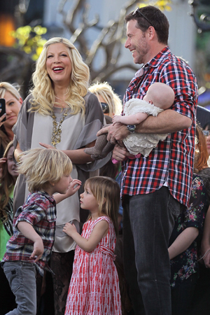 Tori Spelling new cooking show