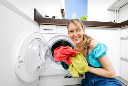 Save energy in the laundry room
