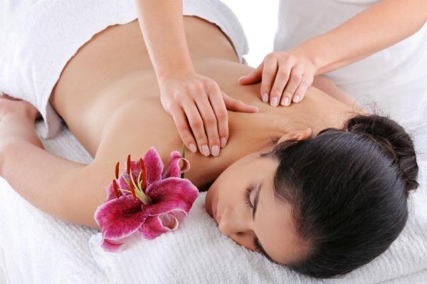 massaging a women Oxnard, California
