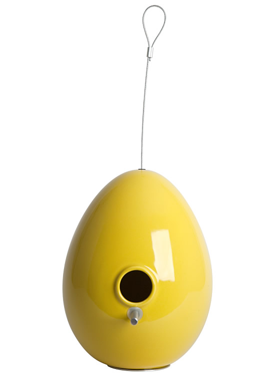 Egg bird house