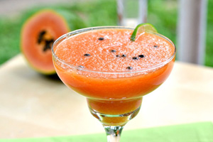 Papaya margarita