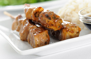 Honey Pork Kabobs