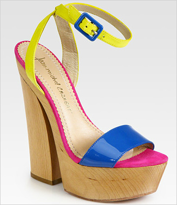 Whitney colorblock sandals