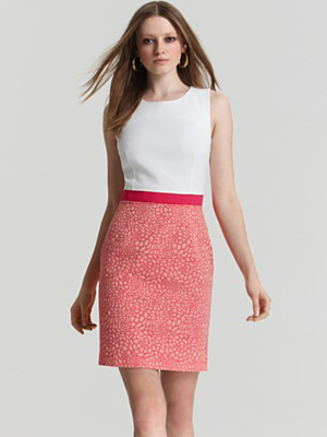 Chic office dress re re